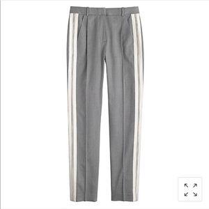 J. Crew Collection Twill Stripe Tux Pant